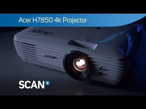 ACER H7850 4K HDR Projector - Overview