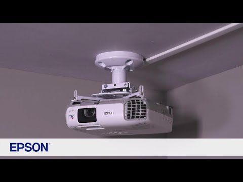 Epson Universal Projector Mount   Take the Tour