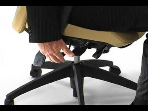 Ergonomic Office Chair - Seat Height Adjustment