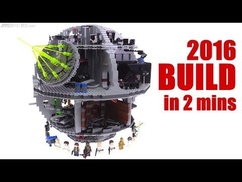 LEGO 2016 Star Wars Death Star timelapse BUILD! 75159