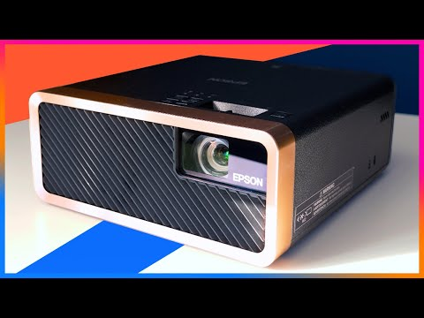 Laser Projector With Android TV | Epson EF-100 Review