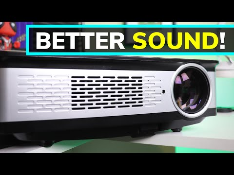 One Easy Tip to DRASTICALLY Improve Projector Sound!