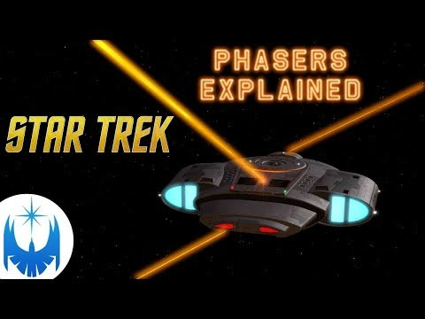 Starship Phasers!! What Are They? Explained!!