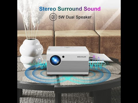My quest to find the best budget projector - BIGASUO 2021 Native 1080p Projector with Bluetooth
