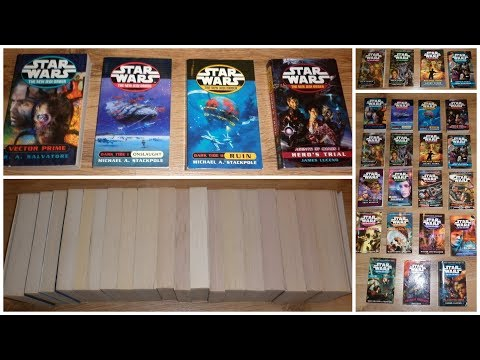 Star Wars The New Jedi Order Complete 19 Book Paperback Novel Set