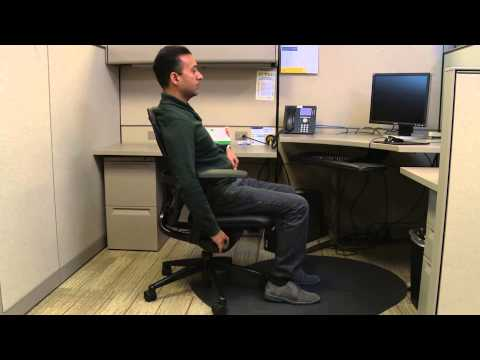 Office Ergonomics - Adjusting Your Chair