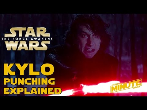 Why Kylo Ren Was Punching Himself - Star Wars Explained
