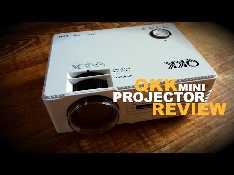 QKK Mini Projector - a budget projector review