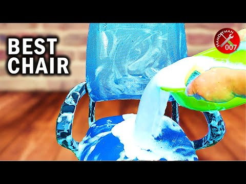 How to Clean Computer Chair | How to Clean Mesh Office Chair Seat | Budget Small Home Office