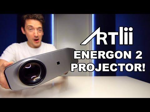 ARTLII ENERGON 2 FULL HD LED PROJECTOR REVIEW!