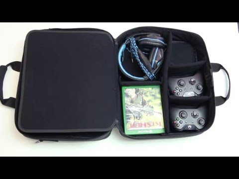 USA GEAR | S13 Gaming Console Bag - Tutorial