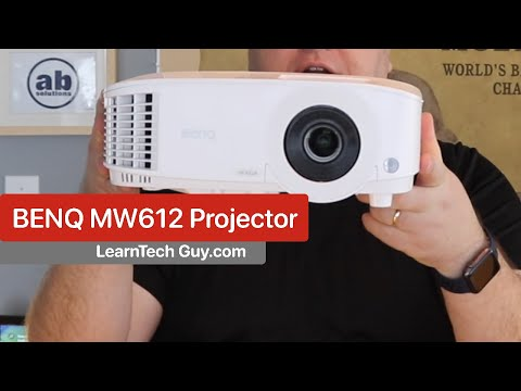 A Look At the BENQ WXGA MW612 Projector