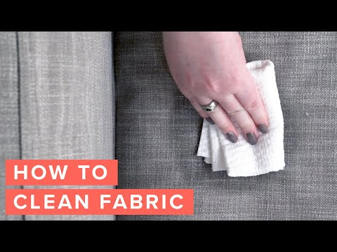 How To Clean A Fabric Couch | Article