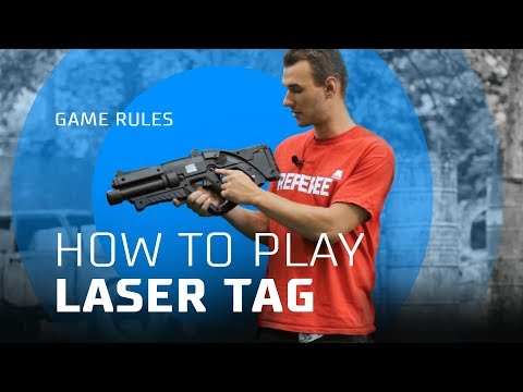 How to play laser tag – instructions for newbies