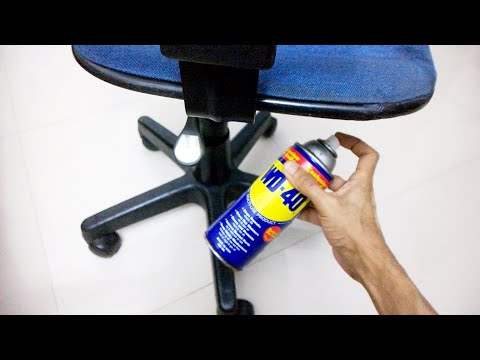 Computer Chair Sinking Problem - 100% Fix