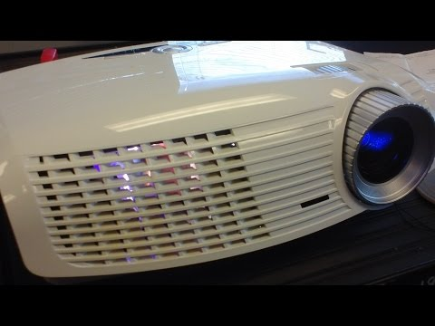 Optoma Projector HD20 (green and flickering) internal cleaning