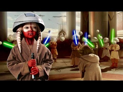 Did Jedi Really Let Younglings Train With Lightsabers?