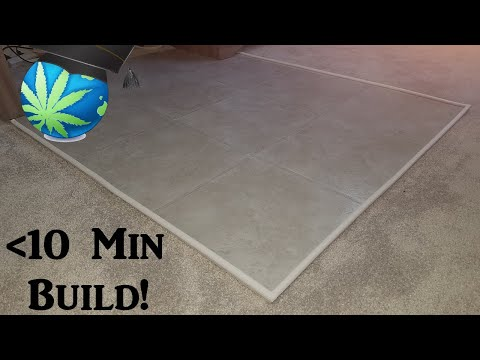 Build An Office Mat Tutorial - Easy & Cheaper Vs Rubber Chair Pad