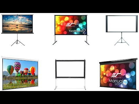 Top 10 Best Projector Screens 2019