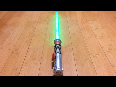 Luke Skywalker ROTJ Ultimate FX Lightsaber Review
