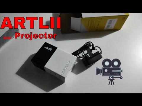 Mini Portable Projector by Artlii - quick review