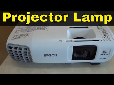 How To Replace A Projector Lamp-Epson PowerLite 97H