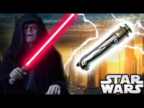 Palpatine's Lightsaber AFTER Revenge of the Sith and How Many He Had (Canon) - Star Wars Explained
