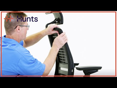Steelcase Think - How To Install The Headrest