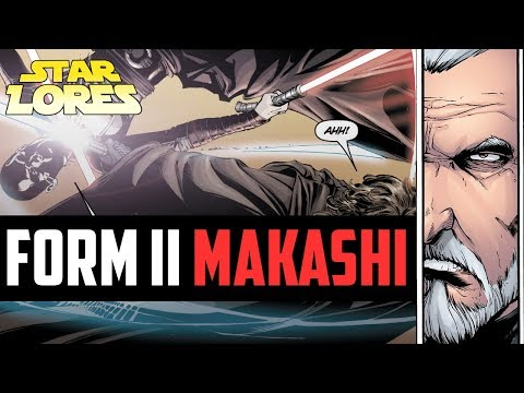 Form II, Makashi Explained: Dooku's Deadly Lightsaber Style [Star Wars Legends]