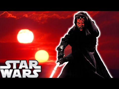 The Story and Reason Behind Darth Maul's Double Bladed Lightsaber - Star Wars Explained