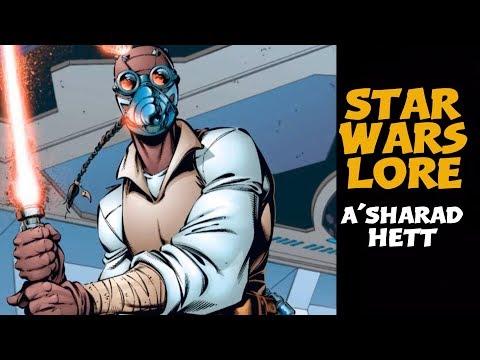 A'Sharad Hett | Star Wars Characters