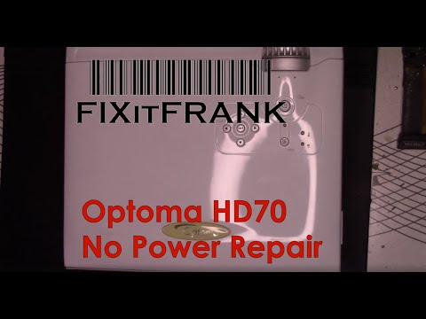 Optoma HD70 DLP Projector Repair and Maintenance