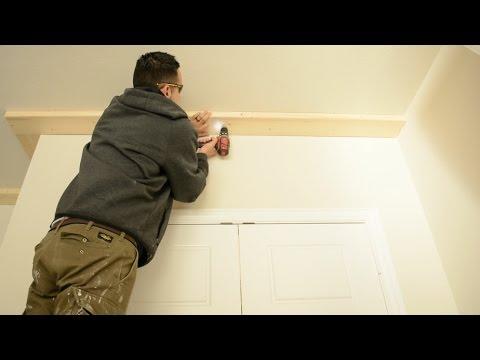 How to Use a Toggle Bolt - Trim Carpentry