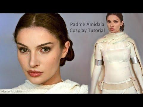 Padmé (Natalie Portman) STAR WARS Makeup / Hair / Costume - Cosplay Tutorial
