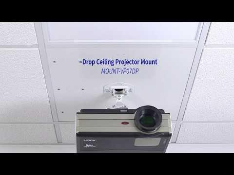 MOUNT-VP07DP Drop Ceiling Projector Mount by VIVO