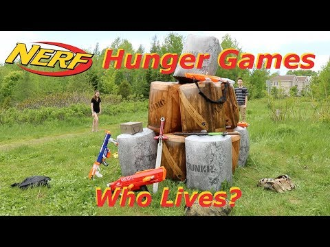 Nerf War: Hunger Games