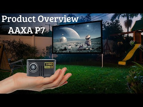 AAXA P7 Mini Projector - Native 1080P w/ 38W Batttery (Product Overview)