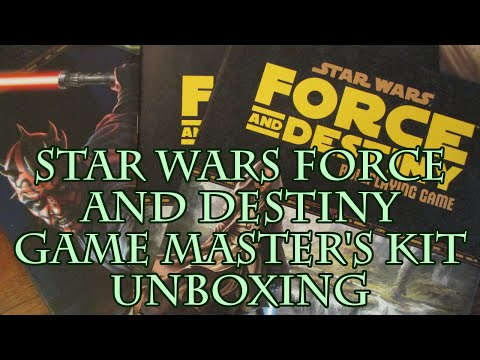 Star Wars Force and Destiny Game Master's Kit Unboxing