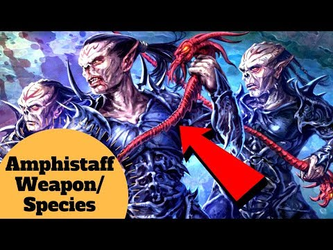 The LIVING Weapon of the Yuuzhan Vong - Amphistaff Species Explained - Star Wars Legends Lore