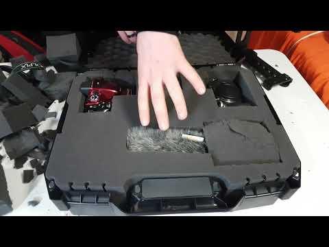 Unboxing & Plucking CASEMATIX Pluckable TOUGH-XL Hard-Body Travel and Storage Case Camera