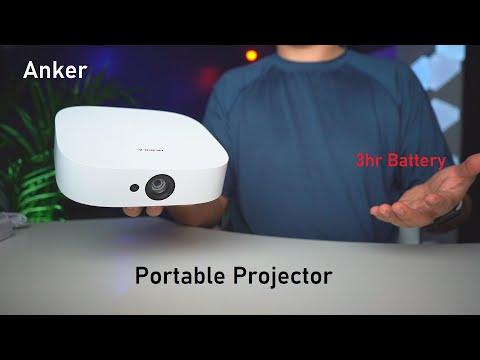 Anker Nebula Solar Portable - True 1080p Mini Projector!