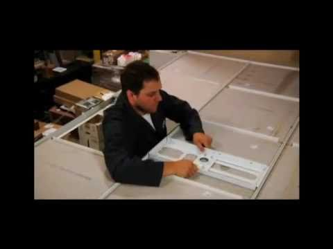 Install the 25-CMS-440 Projector Mount Ceiling Suspension Plate
