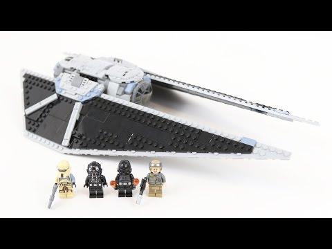 LEGO Star Wars TIE Striker (Timelapse & Review) - Set 75154