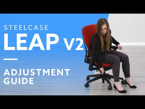 How-To: Adjust The Steelcase Leap Chair