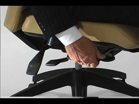 Ergonomic Office Chair - Seat Angle Adjustment