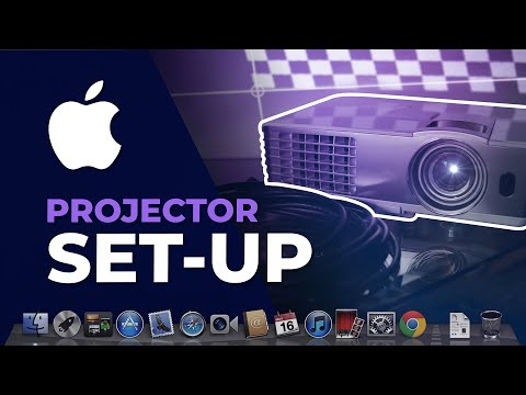 Mac Projector Setup   Extend Display Screen (Projection Mapping)