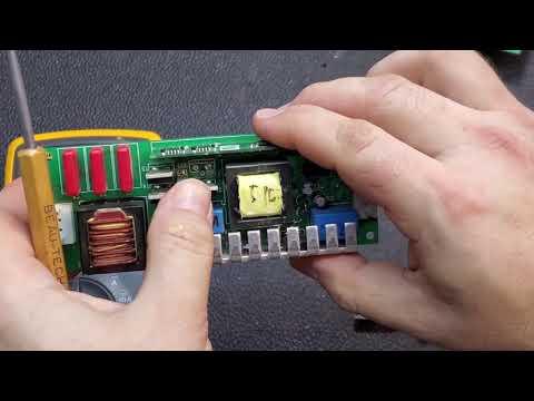Digital Video Projector Ballast Diagnosis and Repair