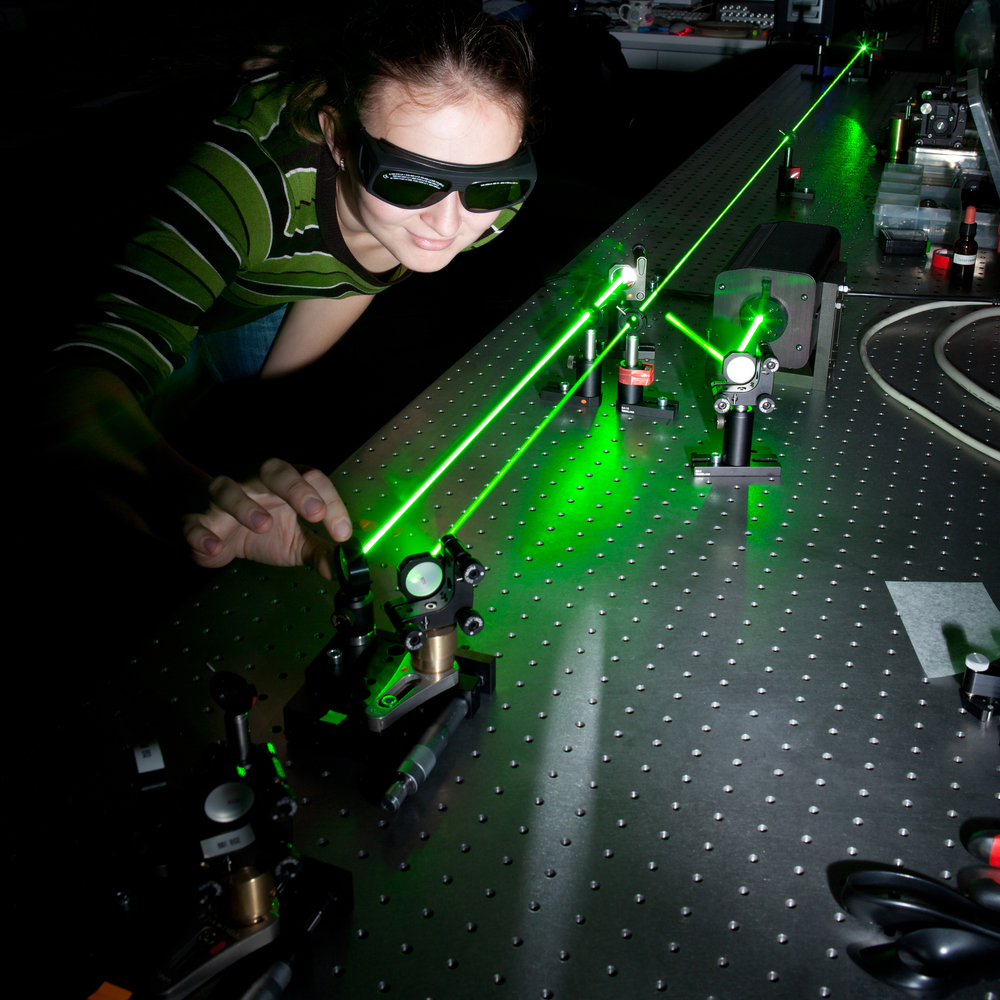 laser pointer experiments