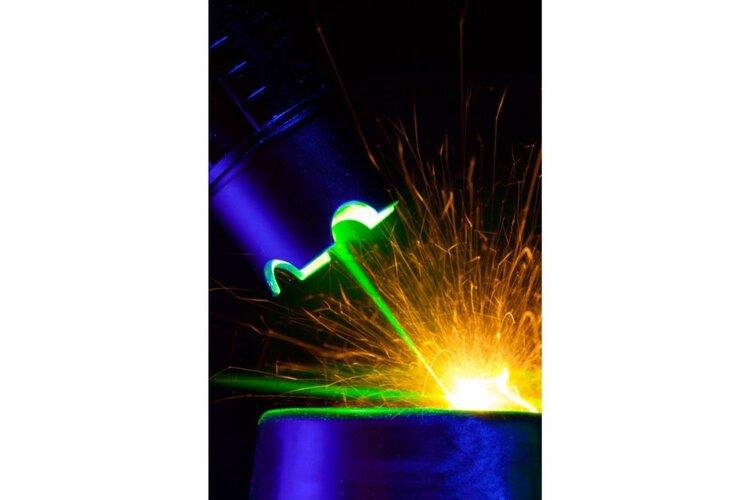 Make A Burning green Laser