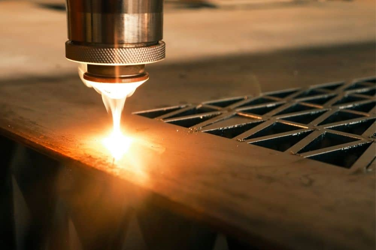 industrial burning laser